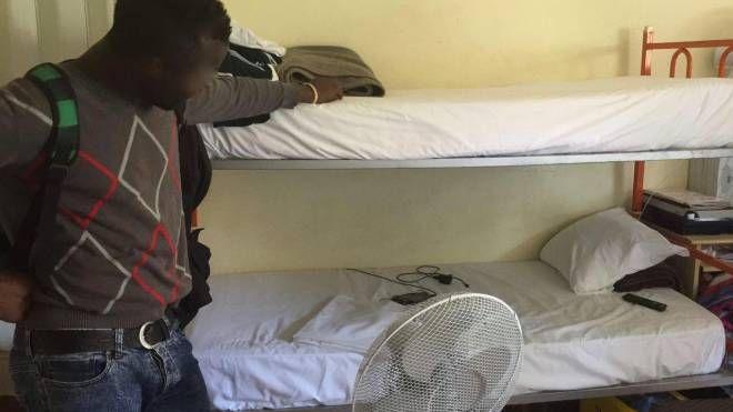 Hotel Italia, una foto scattata dalla commissione d'inchiesta migranti