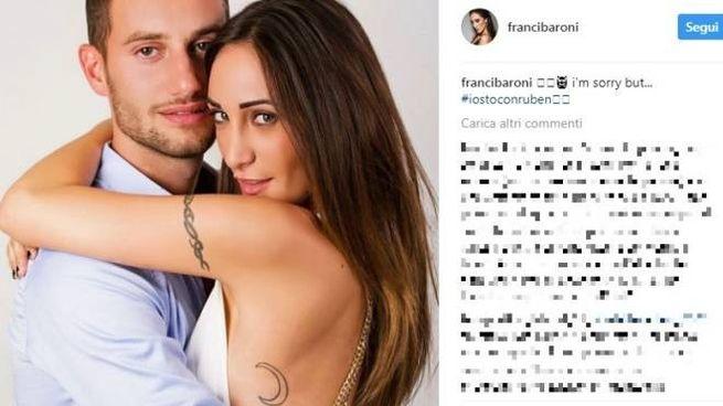 Lo scatto su Instagram di Francesca a Ruben (Instagram)