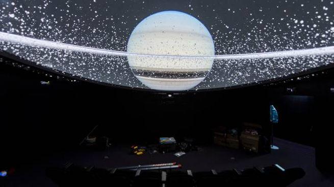Il planetario in Val d'Ega