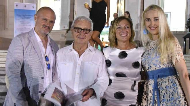 L'inaugurazione a Villa Cuturi della personale di Edmondo Nardini (Nizza)