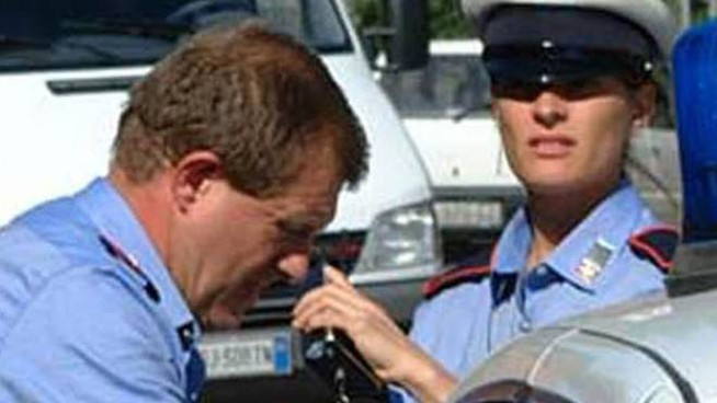 INTERVENTO Sul posto del grave incidente a La Canonica si è precipitata una pattuglia della polizia municipale