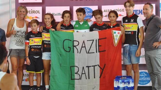 I giovani ciclisti di Melavì Focus Bike