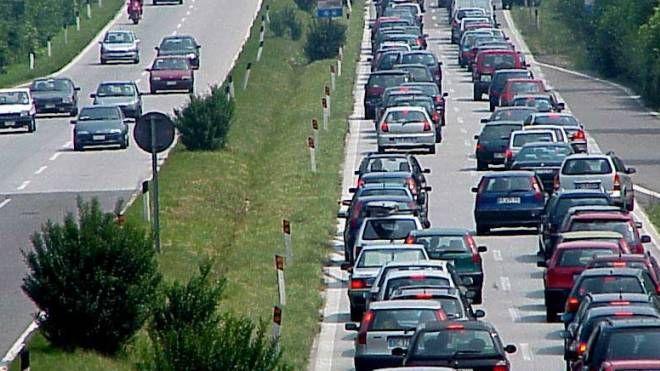 Traffico lungo la Super 36