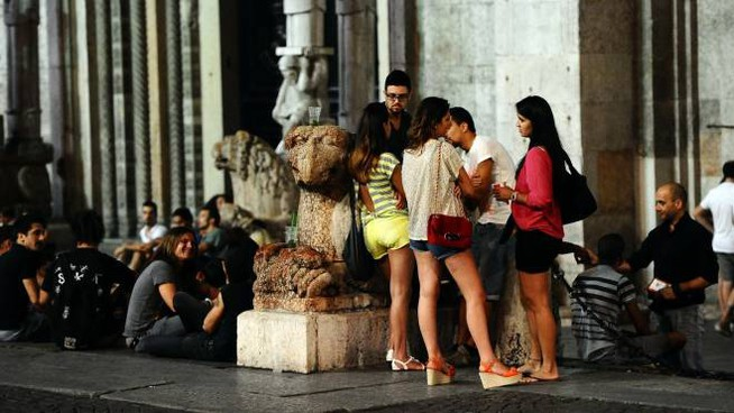 Movida in piazza