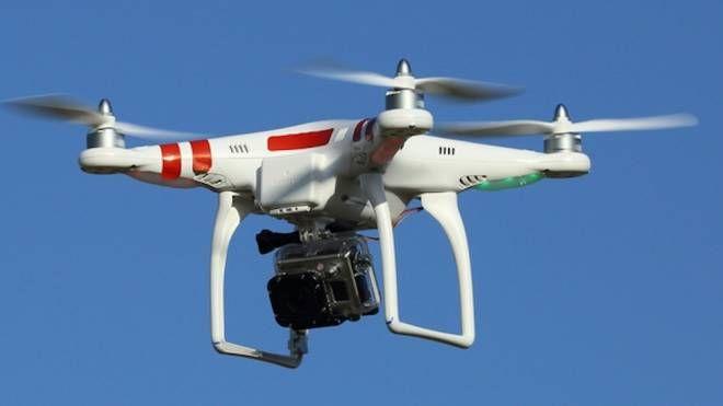 Un drone (foto d'archivio)