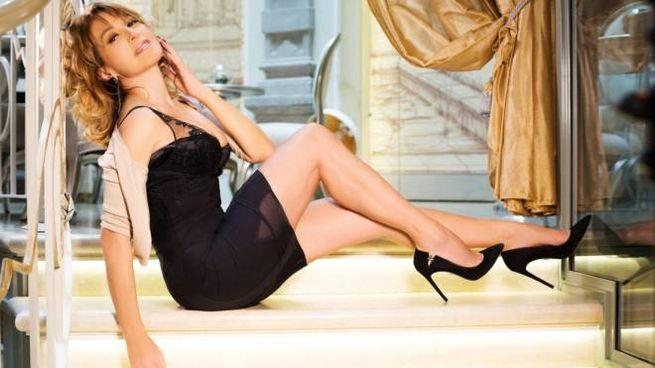 Barbara D'Urso in posa sexy