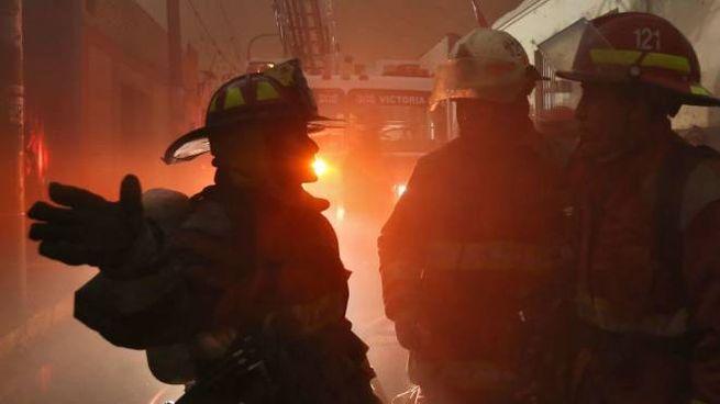 Vigili del fuoco, foto generica (Olycom)