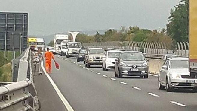 Traffico in tilt per un incidente sulla FiPiLi (Foto archivio)