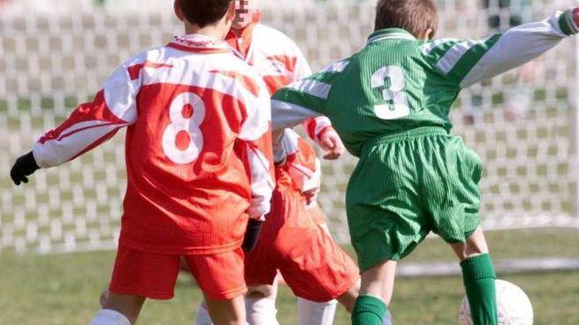 Baby calciatori  sul campo (foto Germogli)