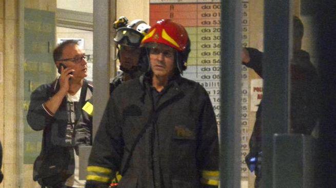 Incendio all'ospedale di Grosseto (Aprili)