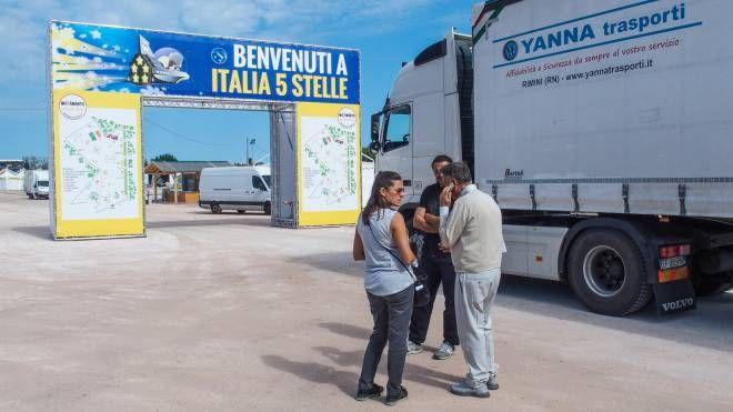 Italia 5 stelle a Rimini (foto Petrangeli)