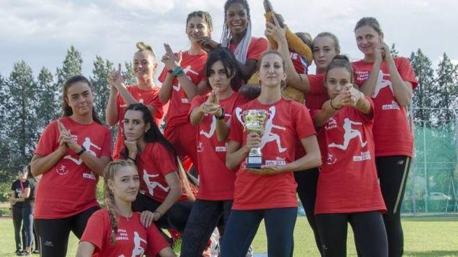 Le ragazze dell'Atletica Avis Macerata (foto Maurizio Iesari)