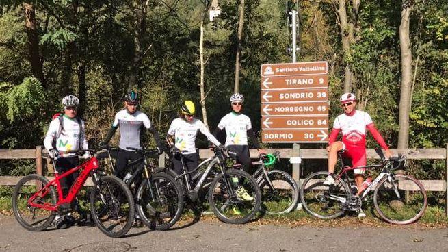 Il team coinvolto nel progetto percorrerà il Sentiero Valtellina