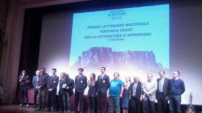 Premio letterario nazionale Raffaele Crovi - cerimonia di premiazione