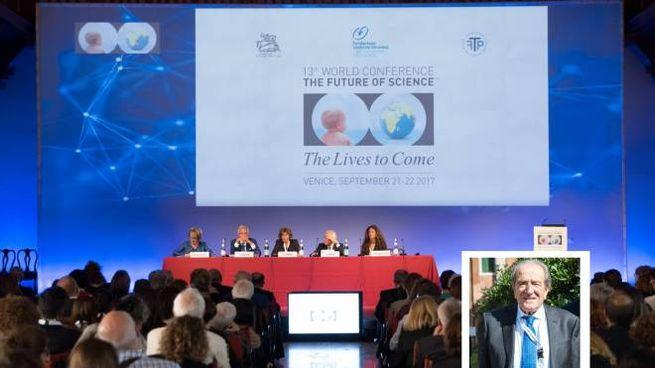 The Future of Science 2017, nel riquadro Lucio Pinto (Ph Nicolò Miana)