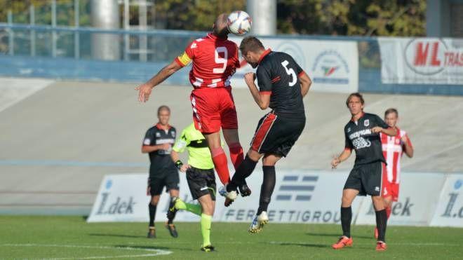 Un'azione del match (foto Frasca)