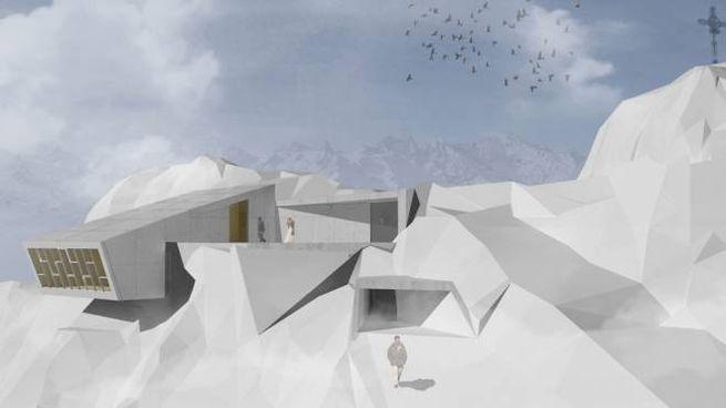 Un render dell'installazione '007 Elements' – Foto: Studio Obermoser