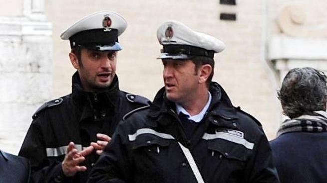 L'uomo è stato inseguito dalla polizia municipale (foto di repertorio)