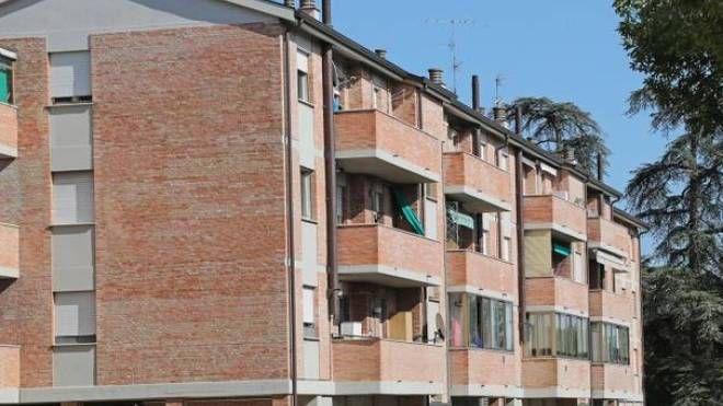Le case popolari di via Solieri-Lippi