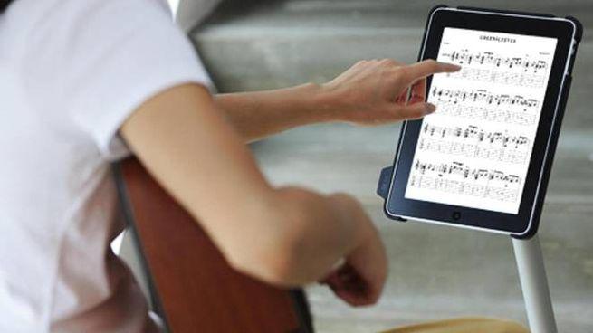 Uno spartito musicale (Foto di repertorio Ansa)