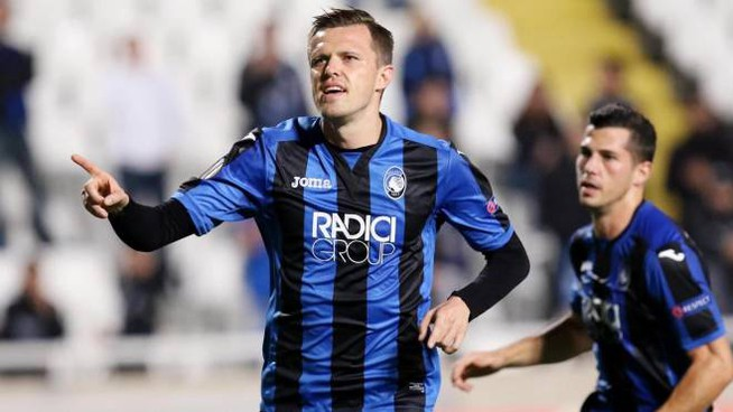 Josip Ilicic in gol (Ansa)