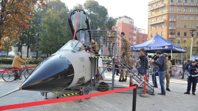Un aereo militare