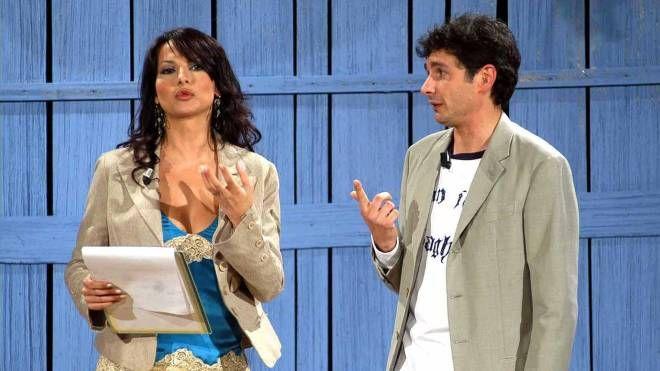 Alessandro Paci con Miriana Trevisan (foto NewPressPhoto)