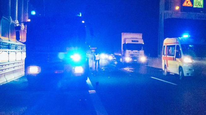 Incidente in autostrada (foto d'archivio)