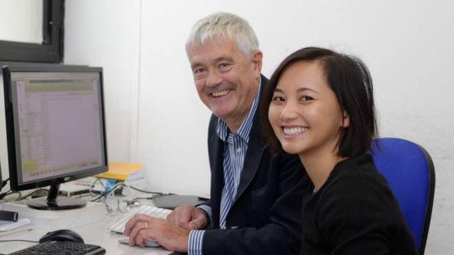 David Burr (Università di Firenze) e Tam Ho (Università di Pisa)