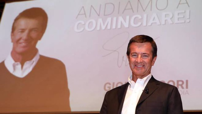 Giorgio Gori presenta la sua candidatura (Ansa)