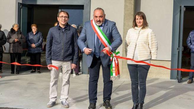 Inaugurazione Polifunzionale a Villa di Tirano