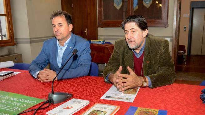 Mauro Steffenini e Adolfo Morganti alla presentazione dell'iniziativa