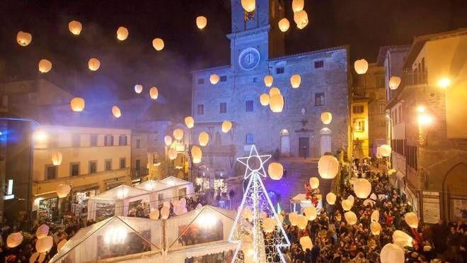 Natale a Cortona (Foto F.Aretini)