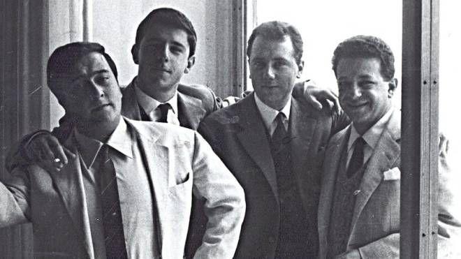 Lo Bianco con Lucio Dalla, Franco D'Andrea, Aldo Donà
