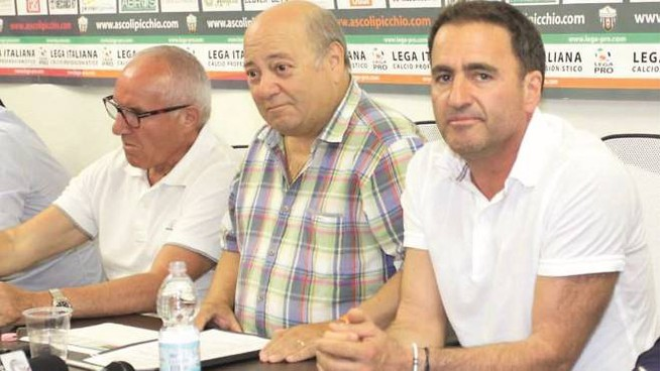 L'azionista Giuliano Tosti in una conferenza con Francesco Bellini e Battista Faraotti