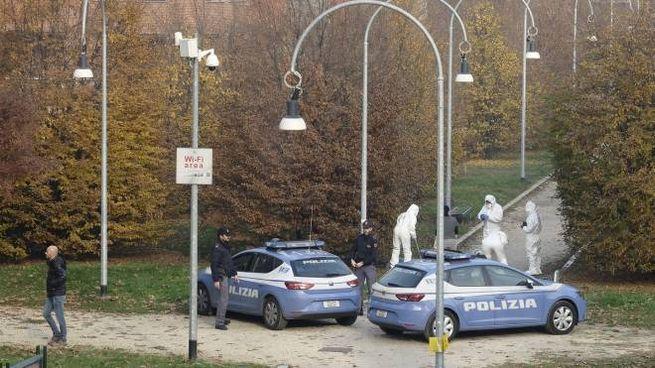 Polizia al parco di Villa Litta