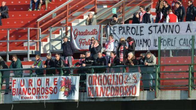 Tifosi del Forlì (foto d'archivio)