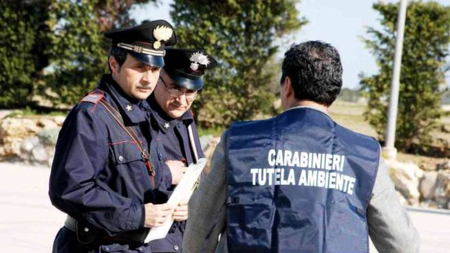 I carabinieri del Noe al lavoro