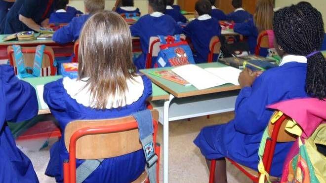 Una classe delle elementari (foto di repertorio)