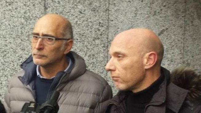 Gli avvocati Claudio Salvagni e Paolo Camporini