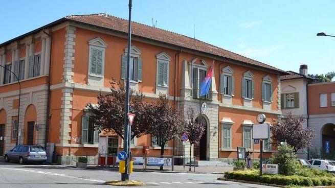 Il municipio di Oggiono