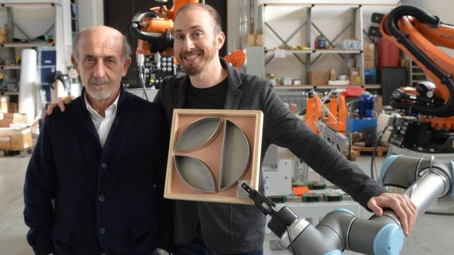 Il presidente Leonardo Fantini e il responsabile commerciale Paolo Zoffoli (foto Cristiano Frasca)