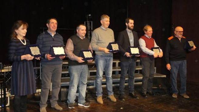 Gli allevatori premiati all'Agrishow
