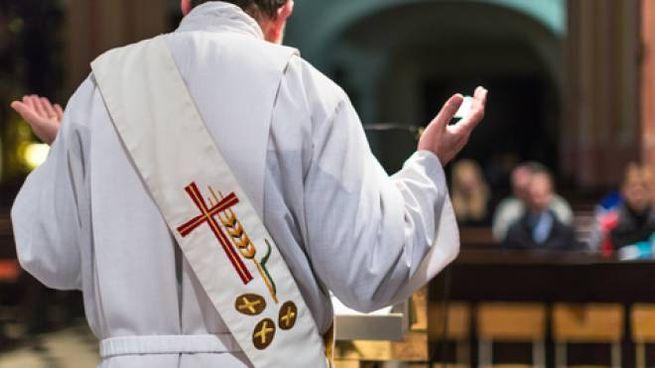 Celebrazione di una Messa (foto d'archivio)