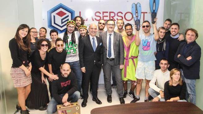 I dipendenti della Lasersoft