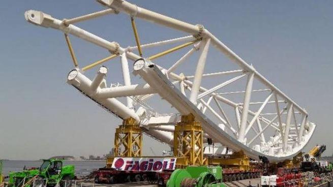 COLOSSO Fagioli opera nei trasporti eccezionali, con altissime tecnologie