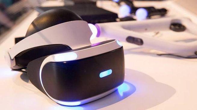 Il visore virtuale  del progetto Virtual videogames