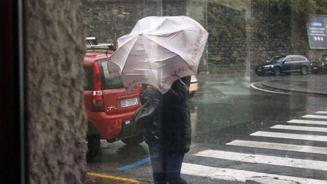 Pioggia e vento in arrivo a La Spezia
