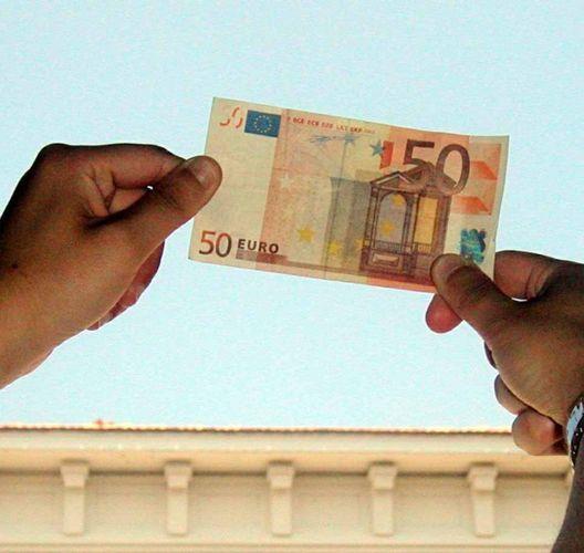 come i soldi falsi