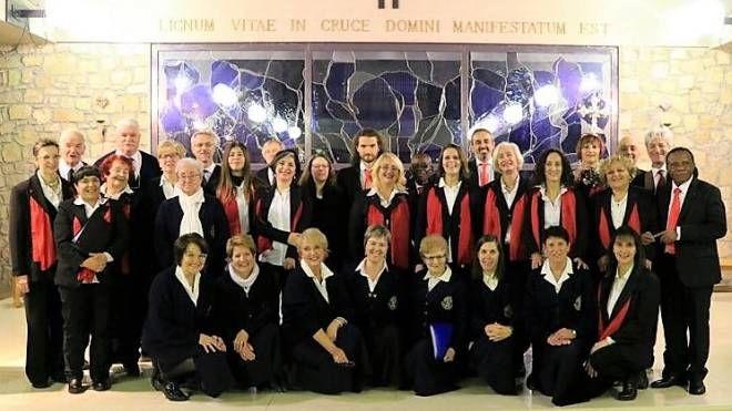 Il Coro Gospel Internazionale di Pistoia sulle Dolomiti ampezzane